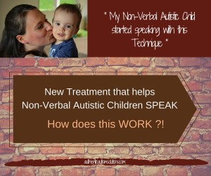 Non-Verbal Autistic children Speak