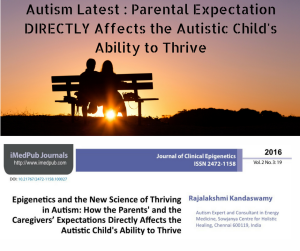 Autism Latest : Parental Expectation and Thriving in Autism